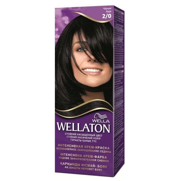 Wellaton Maxi Single püsivärv 2/0 must