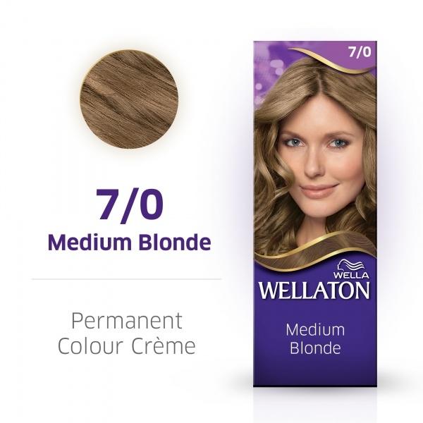 Wellaton Maxi Single püsivärv 7/0 keskmine blond