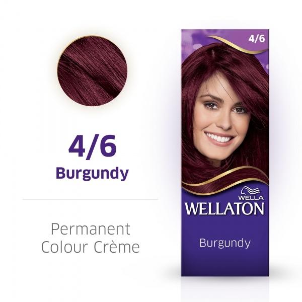 Wellaton Maxi Single püsivärv 4/6 veinipunane