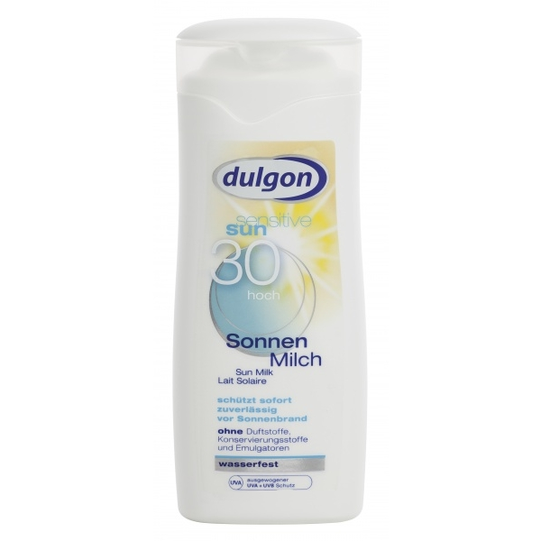 Dulgon Sun Sensitive päevituspiim SPF30