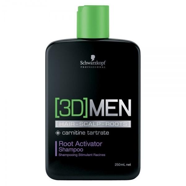 Schwarzkopf Professional 3D Root Activator šampoon meestele