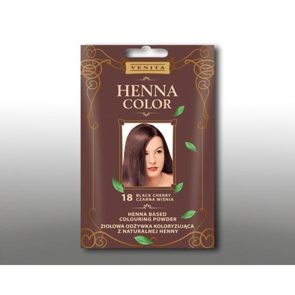 Venita henna pulber 18 black cherry