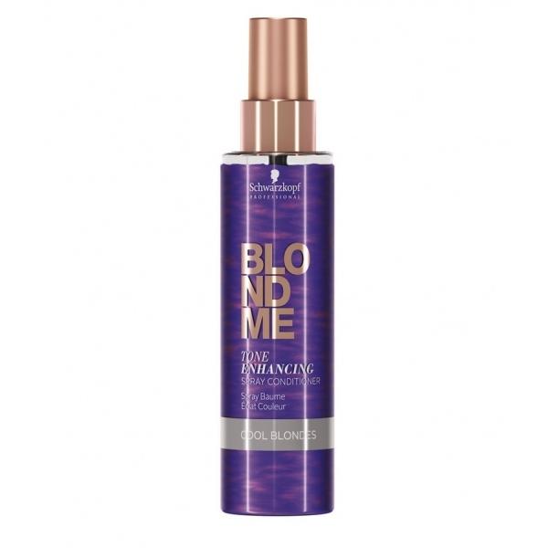 Schwarzkopf Blond Me Tone Enhancing Spray Conditioner Cool Blondes tooni tugevdav spreipalsam