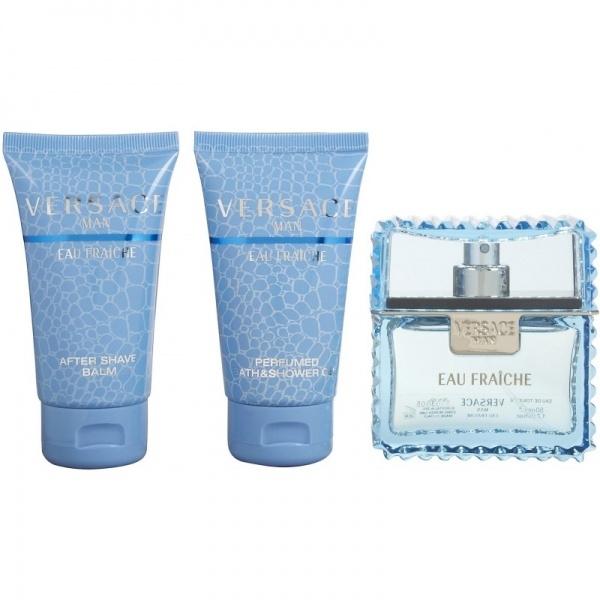 Versace Eau Fraiche Set Eau de Toilette 50 ml+dušigeel+asb