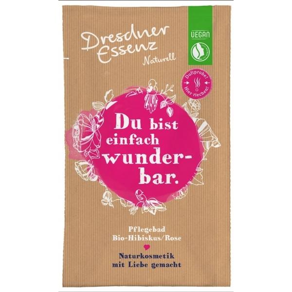 Dresdner Essenz Bio vannisool hibiskus-roos