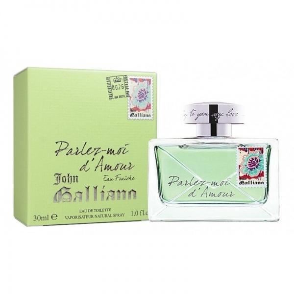 John Galliano Parlez-Moi d'Amour Eau Fraiche 30ml