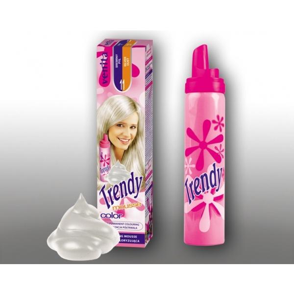 """Venita Trendy värviv juuksevaht 11 """"silver dust"""""""