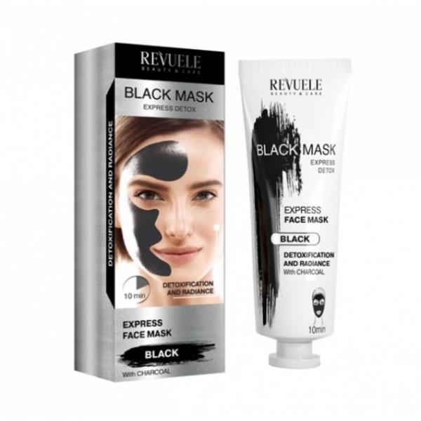 Revuele Black Mask Express Detox puhastav näomask 904261