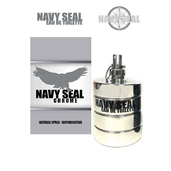 Raphael Rosalee Navy Seal Chrome Eau de Toilette 100 ml