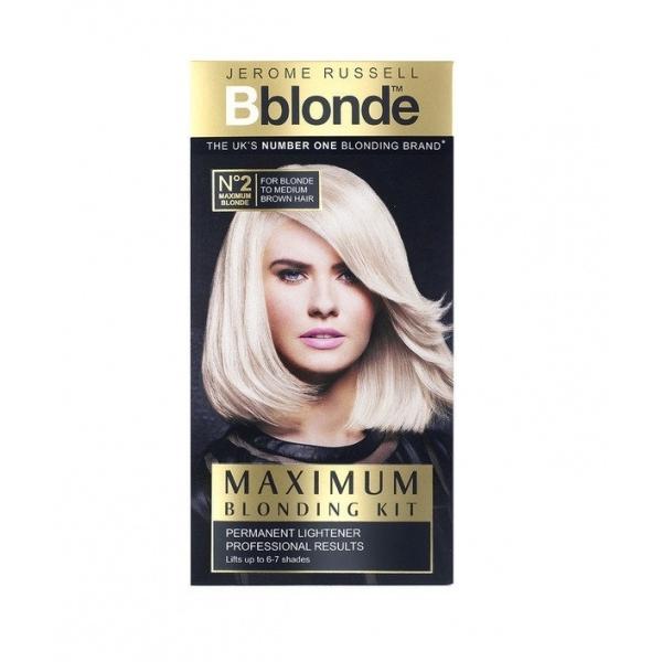 Jerome Russell Bblonde Maximum Blonding Kit blondeerimiskomplekt nr 2
