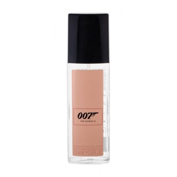 James Bond 007 For Woman II Deodorant 75 ml natural spray