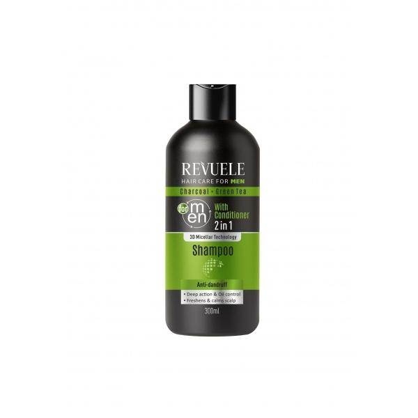 Revuele kõõmavastane 2in1 šampoon meestele 100633