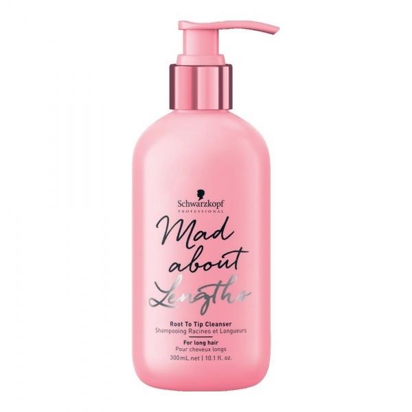 Schwarzkopf Professional Mad About Lengths sulfaadivaba šampoon