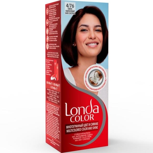 Londa Color juuksevärv 4/76 Dark chestnut
