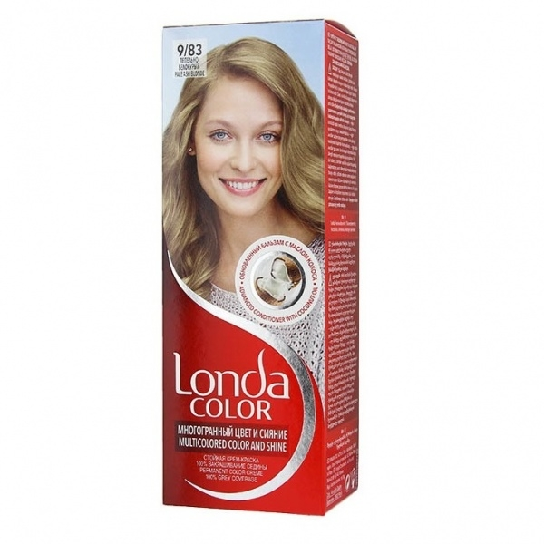 Londa Color juuksevärv 9/83 Pale ash blonde
