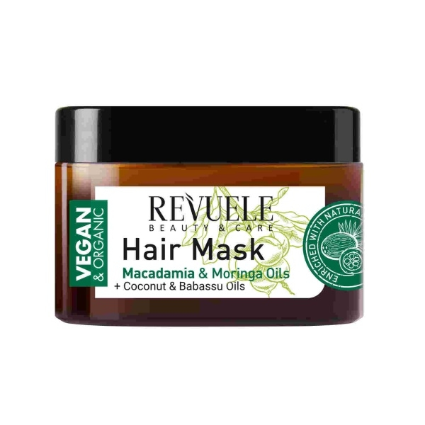 Revuele Vegan Organic juuksemask makadaamiaõliga
