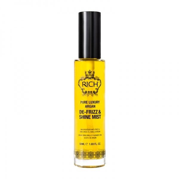 Rich Pure Luxury Argan De-Frizz & Shine Mist juuksesprei argaaniaõliga