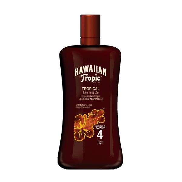 Hawaiian Tropic Päevitusõli SPF 4