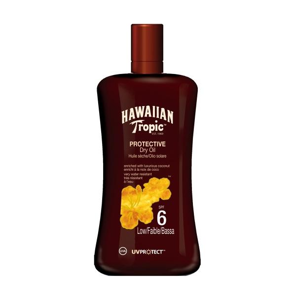 Hawaiian Tropic Päevitusõli SPF 6