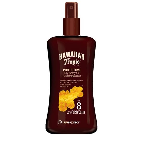 Hawaiian Tropic Päevitusõli sprei SPF 8