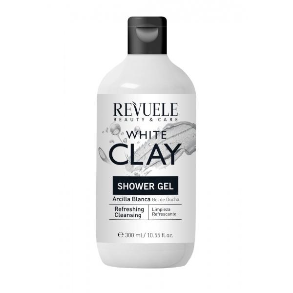 Revuele White Clay värskendav dušigeel valge saviga 102071