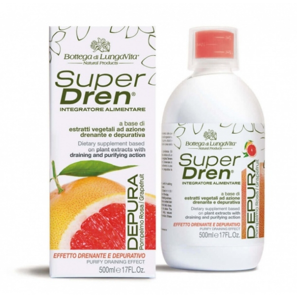 Superdren Depura Grapefruit ainevahetust kiirendav ja tselluliiti vähendav toidulisand