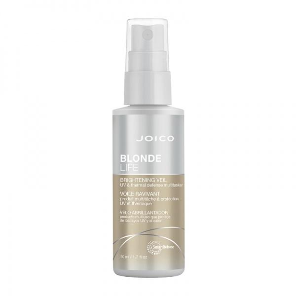 Joico Blonde Life Brightening Veil  UV- ja kuumakaitsega juustesse jäetav palsam blondidele juustele