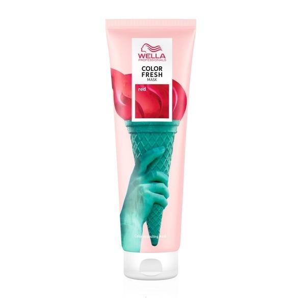 Wella Professionals Color Fresh Mask intensiivne tooniv juuksemask Red