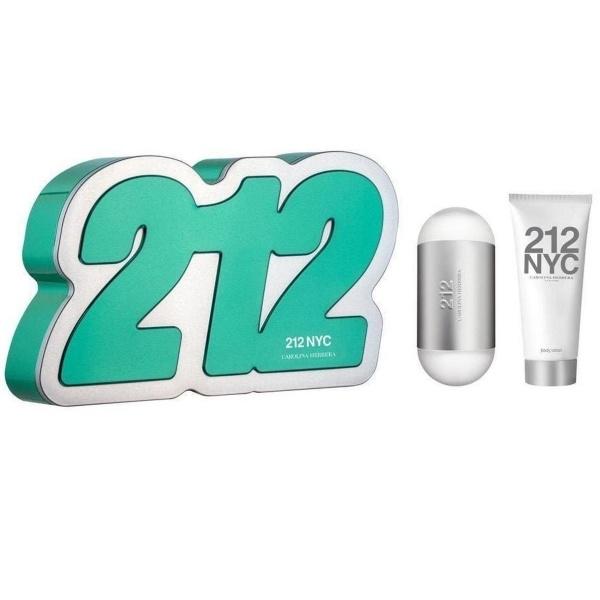 Carolina Herrera 212 Eau de Toilette 60 ml + ihupiim 75 ml