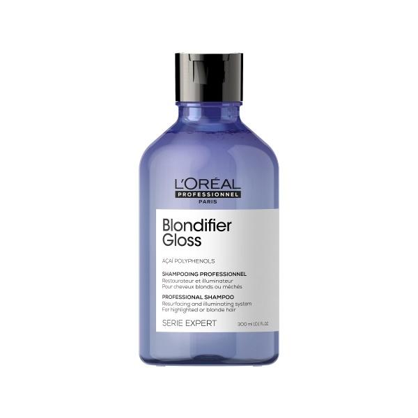 L´Oreal Professionnel  Blondifier Gloss sära andev šampoon blondidele juustele 300ml