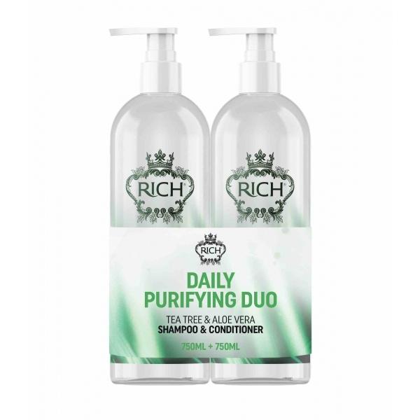 RICH Daily Purifying Duo puhastav ja toitev komplekt 750+750ml