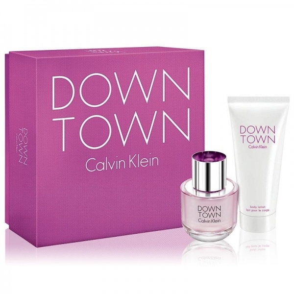Calvin Klein Down Town Set Eau de Parfum 50 ml + Body Lotion 100 ml