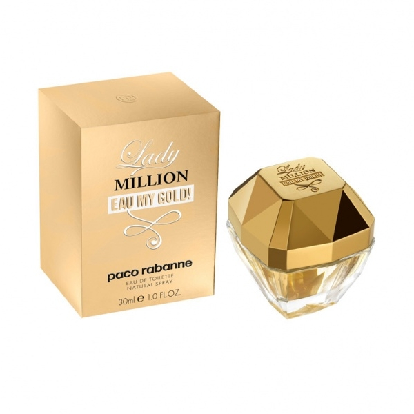 P.RABANNE LADY MILLION LEAU MY GOLD EDT 30 ML