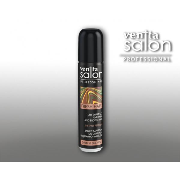 Venita kuivšampoon pruunile juuksele