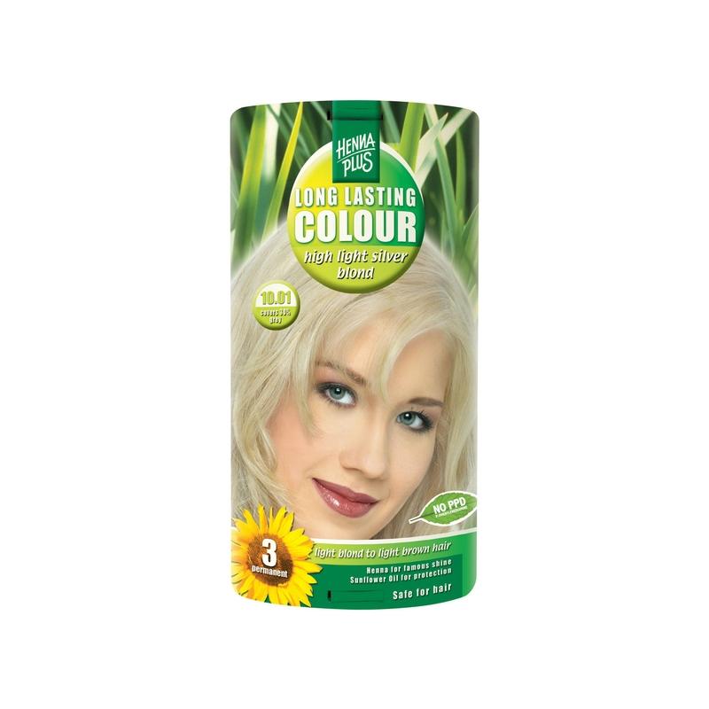 Henna Plus Long Lasting Colour juuksevärv 10.01 highlight silver blond*