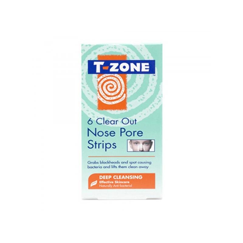 T-Zone Ninapuhastusplaastrid 6tk