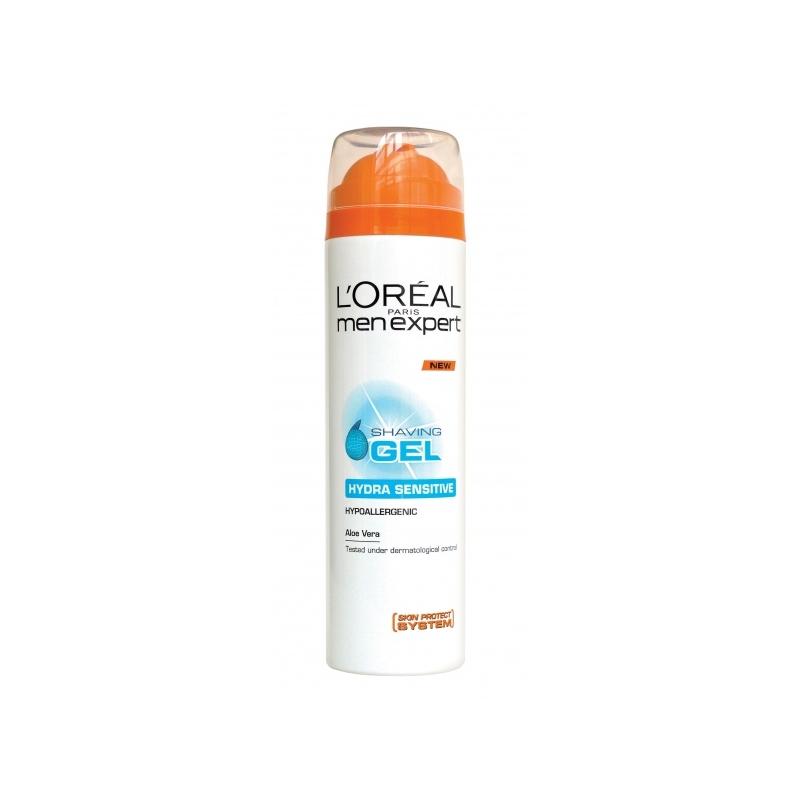 L'Oréal Paris Men Expert Hydra Sensitive raseerimisgeel tundlikule nahale