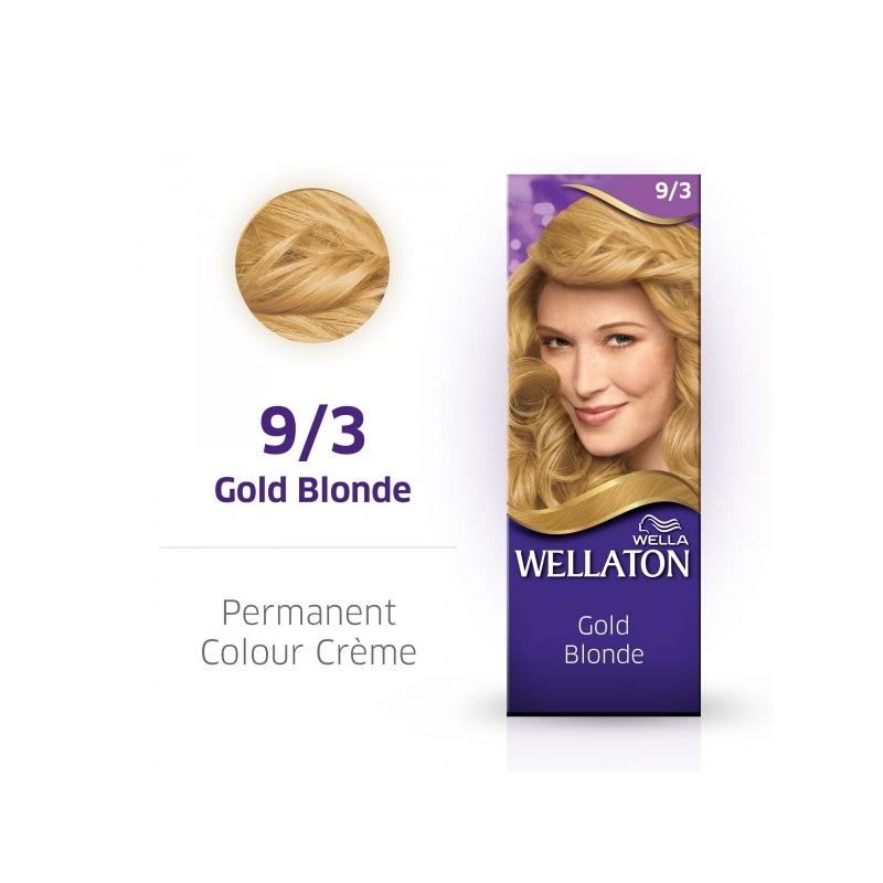 Wellaton Maxi Single püsivärv 9/3 kuldblond