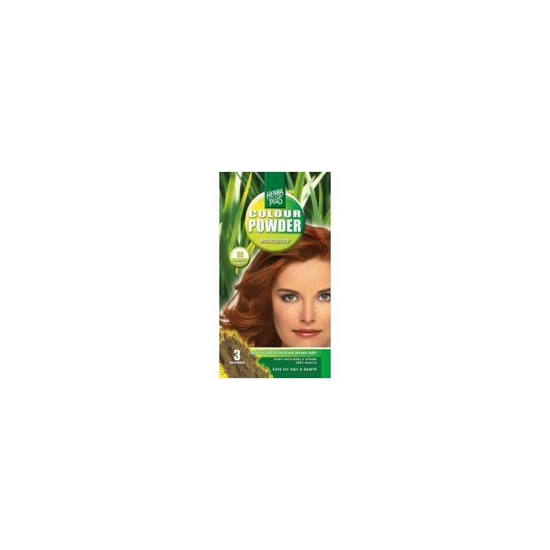 Henna Plus püsivärvipulber 52 mahagon