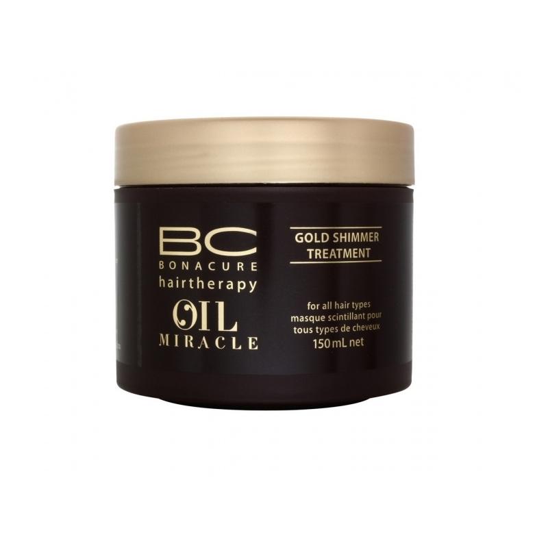 Schwarzkopf Professional BC Oil Miracle Gold Shimmer süvahooldus