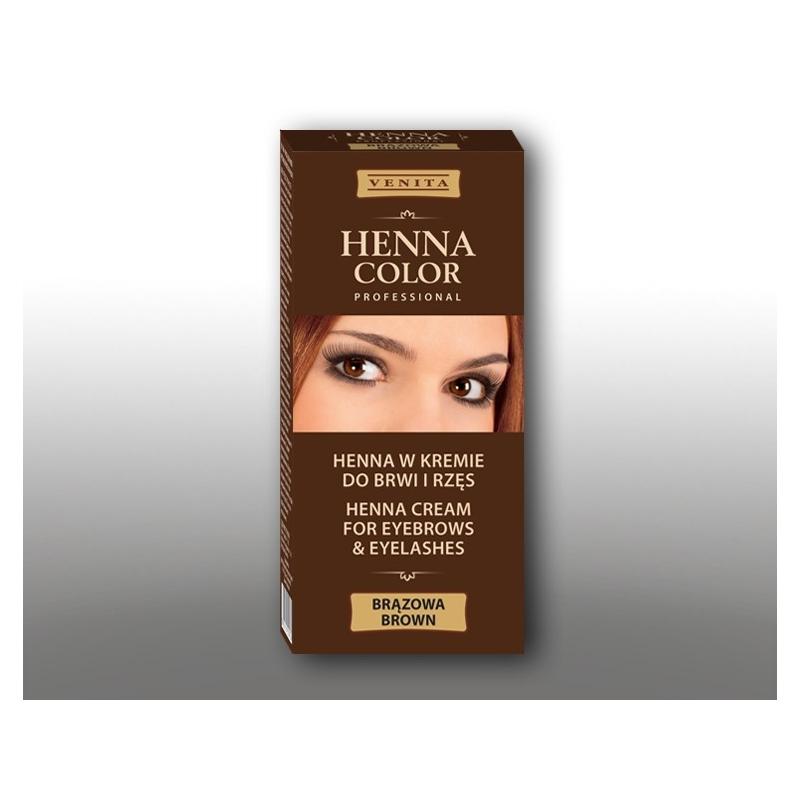Venita Henna Color kulmuvärv pruun