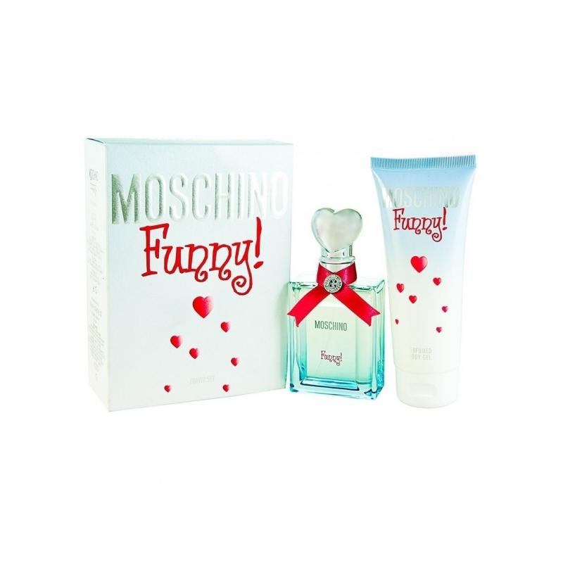 Moschino Funny komplekt Edt 25ml+Ihupiim