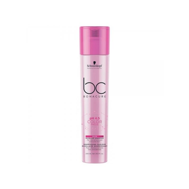 Schwarzkopf Bonacure Color Freeze Micellar šampoon