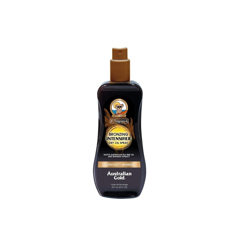Australian Gold Intensifier Dry Oil Spray with Bronzer Intensiivistav pruunistajatega päevitusõli 247ml