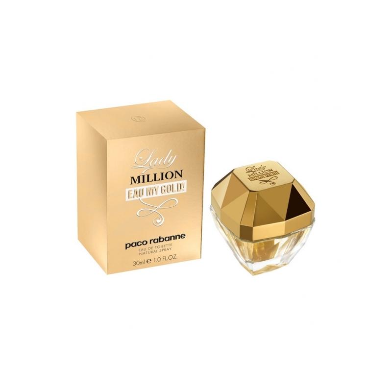 Paco Rabanne Lady Million Eau my Gold tualettvesi 30 ml
