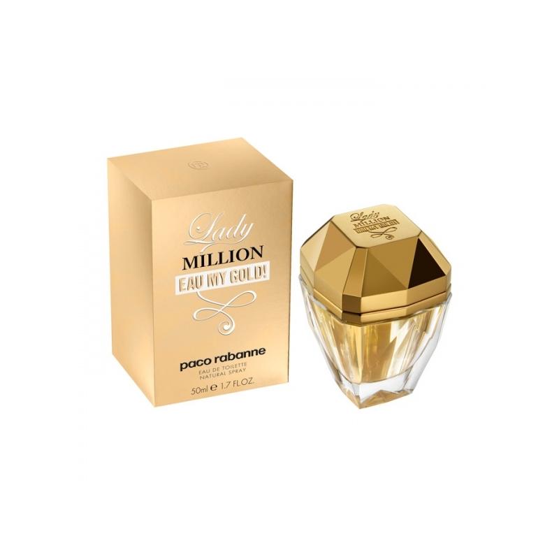 Paco Rabanne Lady Million Eau my Gold tualettvesi 50 ml