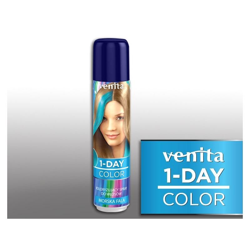 Venita värviv juuksesprei 2 helesinine