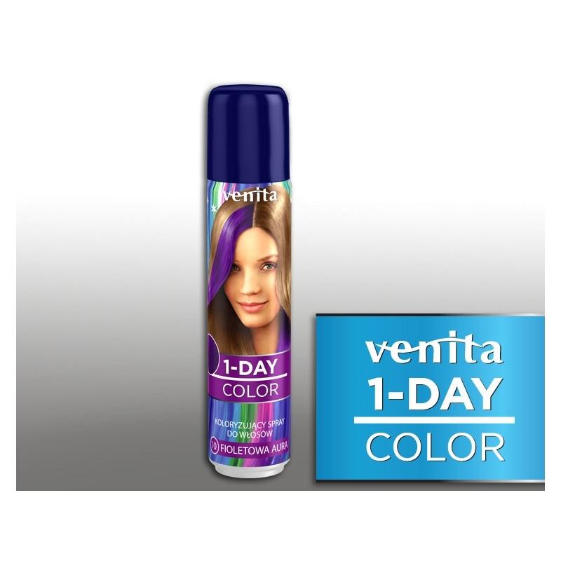 Venita värviv juuksesprei 10 lilla