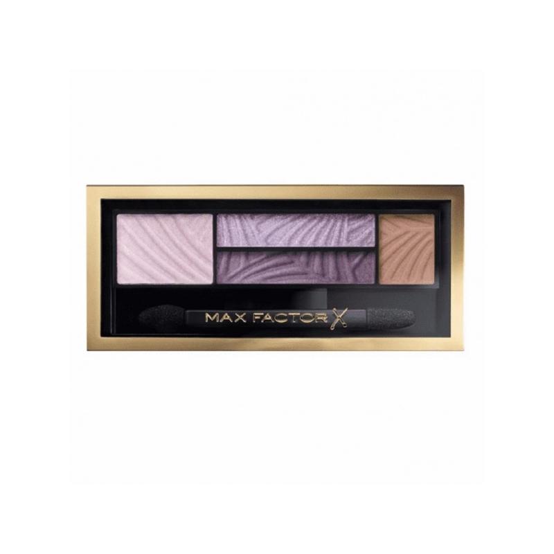 Max Factor Smokey Eye Drama 04 Luxe Lilacs lau ja kulmuvärvipalett 04 luxe lilacs