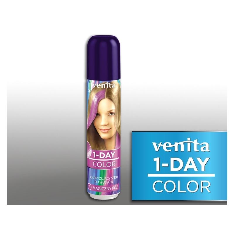 Värviv juuksesprei 13  magic pink